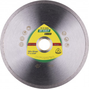 Tarcze diamentowe do cięcia - Linia Extra* DT 300 F Extra