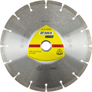 Tarcze diamentowe do cięcia - Linia Extra* DT 300 U Extra